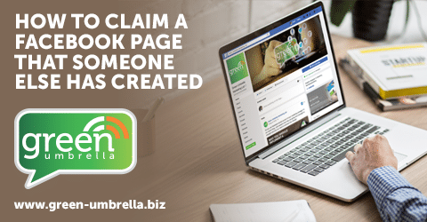 How To Claim A Facebook Page That Someone Else Has Created