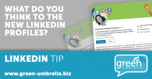 LinkedIn Tip: What do you think to the new LinkedIn Profiles?