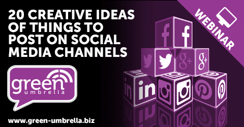 20 Creative Ideas Of Things To Post On Social Media Channels