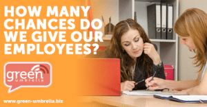 How many chances do we give our employees?