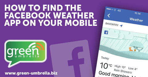 How to Find the Facebook Weather App on Your Mobile