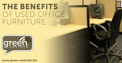 Buying Used Office Furniture for Environmental Conservation
