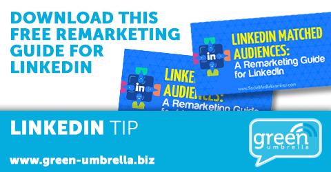 LinkedIn Tip: Download this free remarketing guide for LinkedIn
