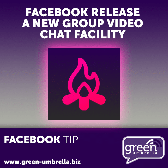 Facebook Tip: Facebook release a new group video chat facility