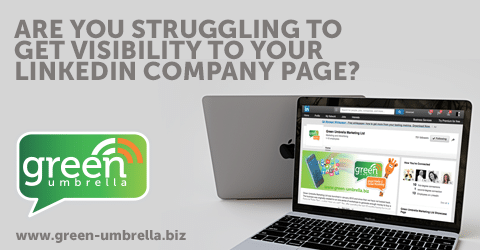 Are you struggling to get visibility on your company linkedIn page?