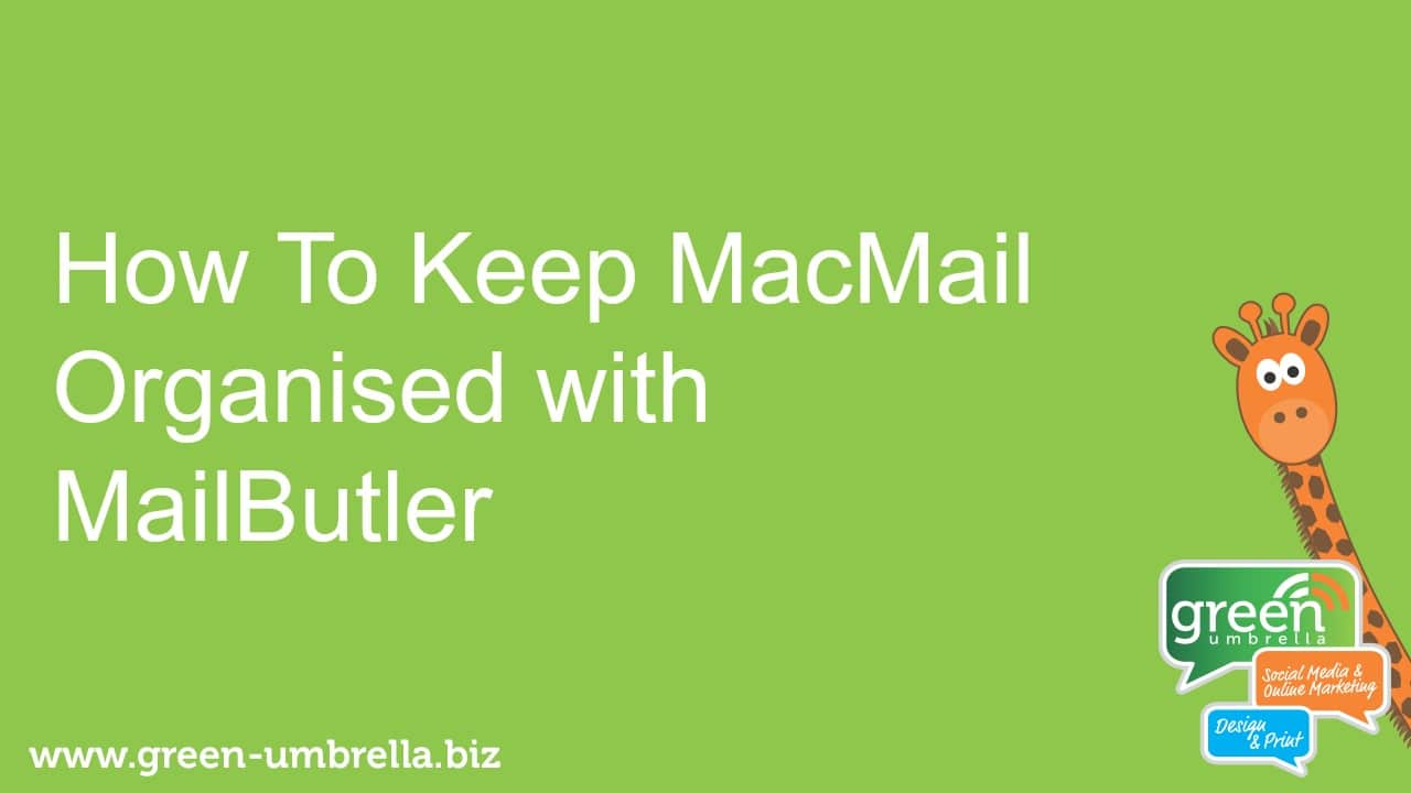 Get organised with your email using MailButler