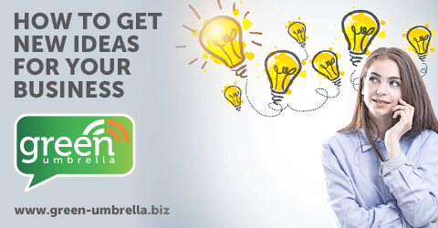 How to get new ideas for your business