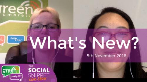What's new in social media_