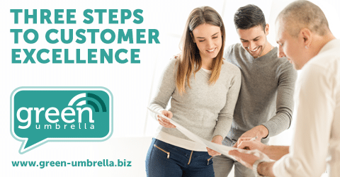 Three Steps to Customer Excellence