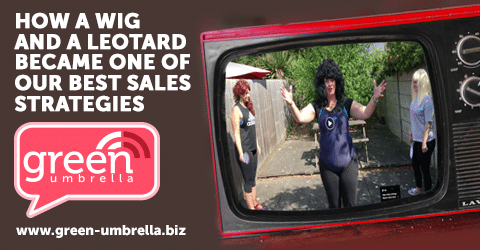 How a Wig and a Leotard Became One of Our Best Sales Strategies