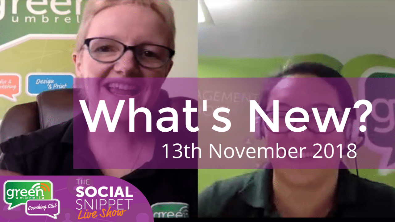 what's new 13th November