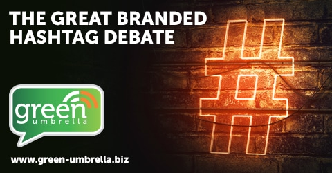 The great branded hashtag debate