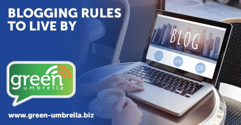 Blogging Rules to live by