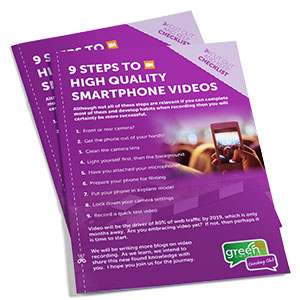 Smartphone Video Checklist