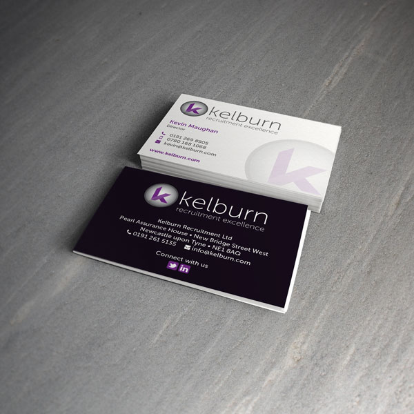 Kelburn Recruitment Business Cards