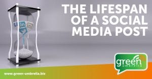 The Lifespan of a Social Media Post
