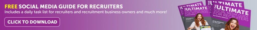 Recruiters ebook banner