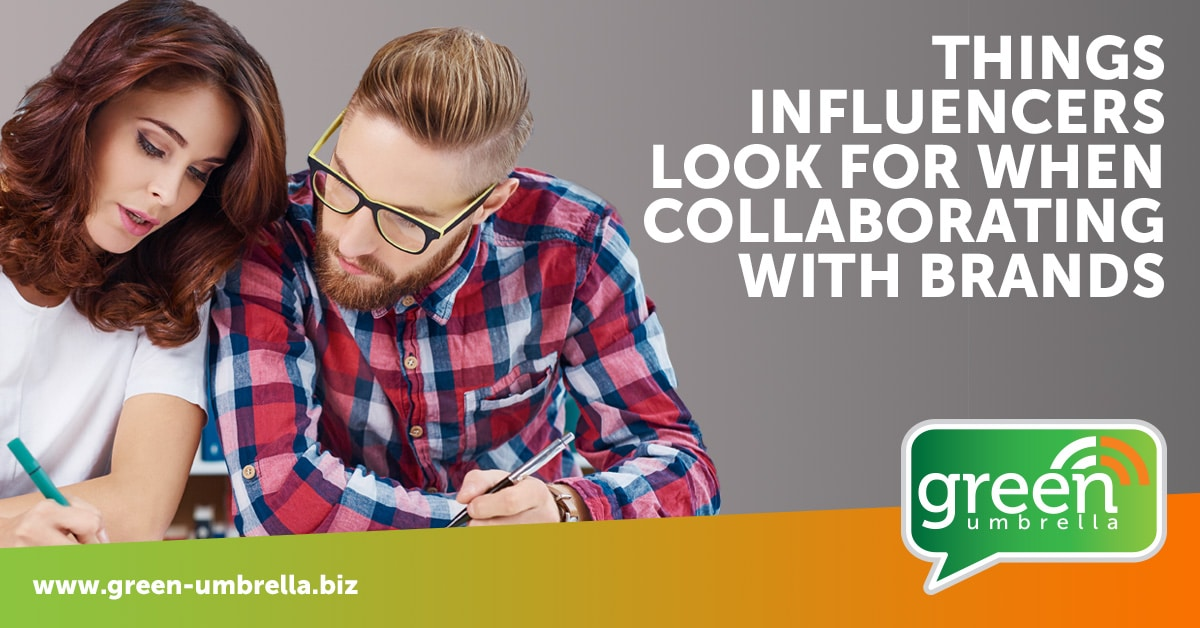 Things Influencers Look for When Collaborating with Brands