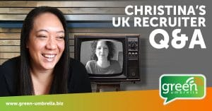 Christina Robinson Q&A with UK Recruiter