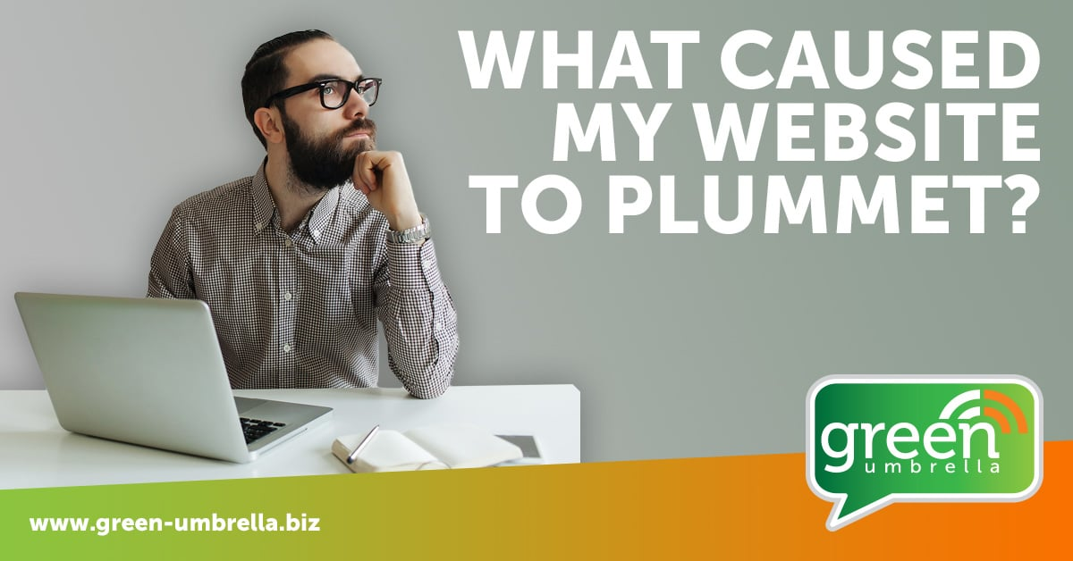 SEO - What caused my website to plummet