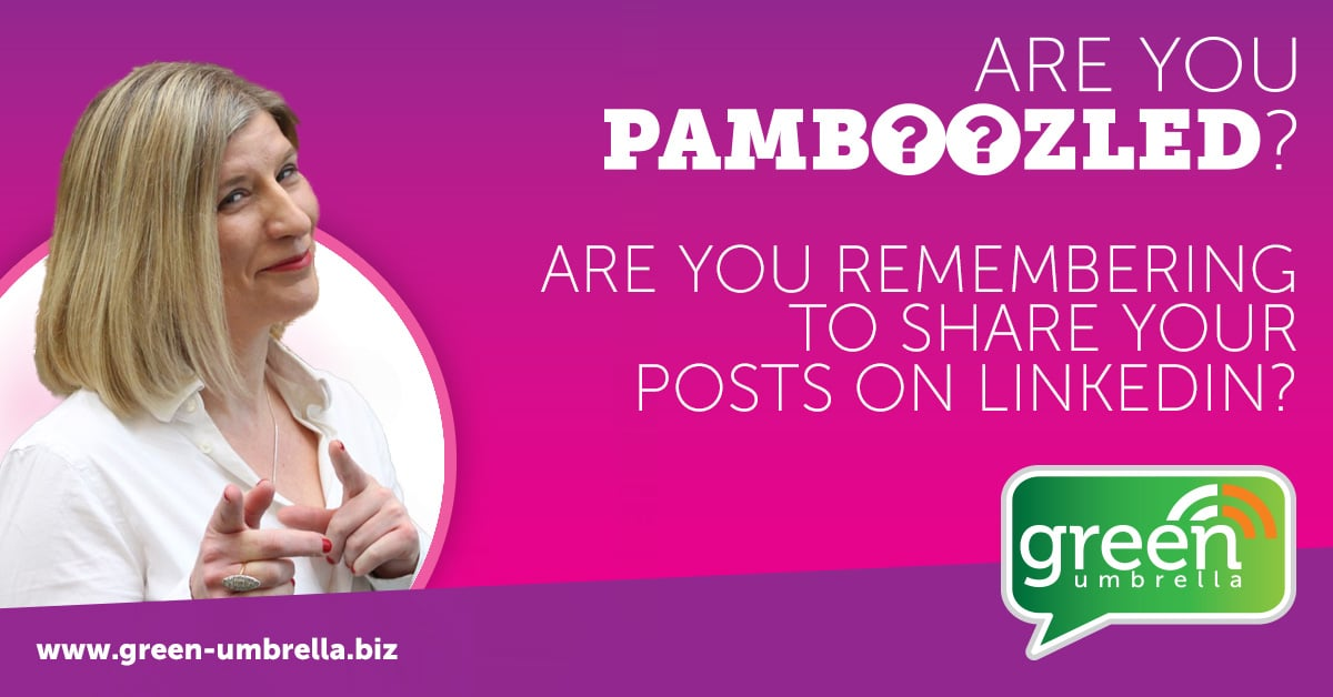 Are you sharing your LinkedIn content?