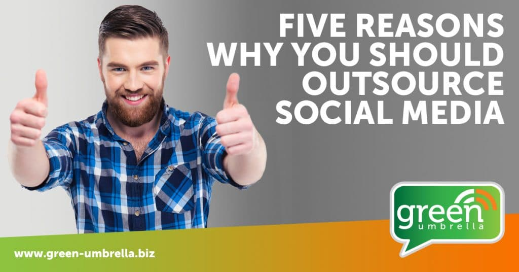five reasons to outsource social media
