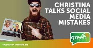 Christina talks social media mistakes