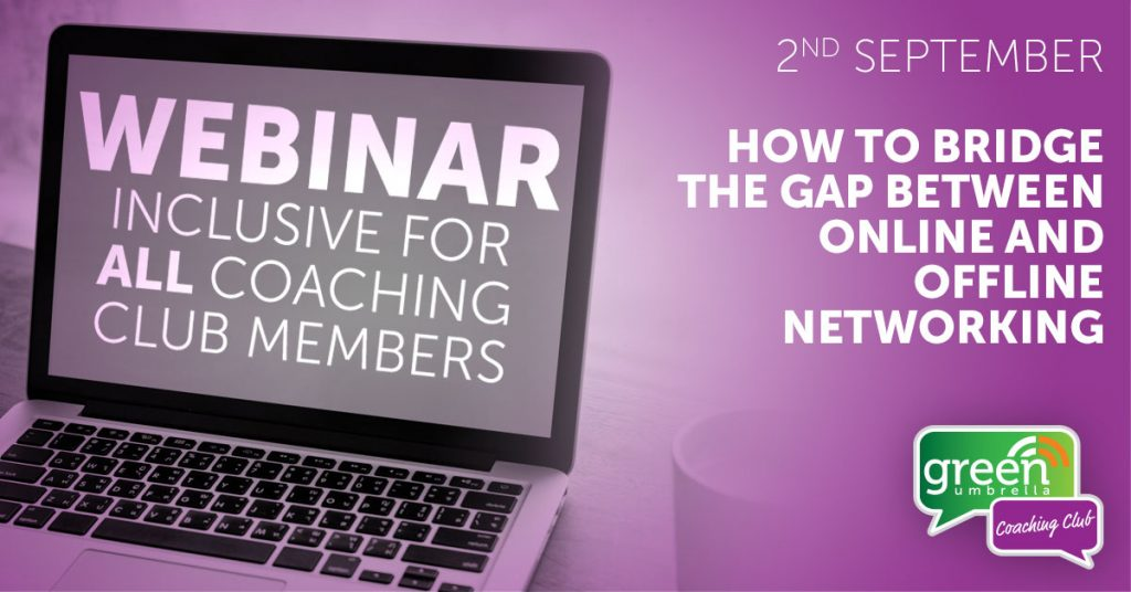 How to bridge the gap between online and offline networking