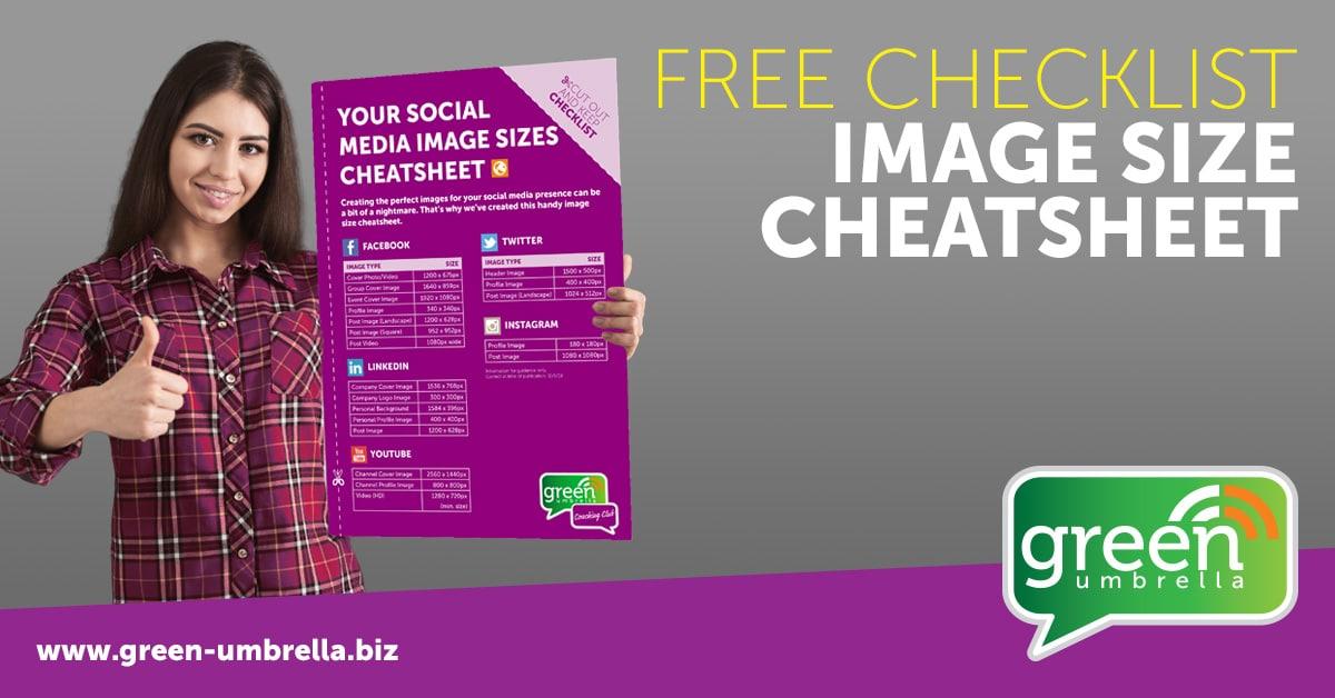 Image Size Cheat Sheet