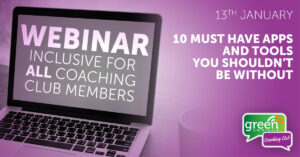 Apps and Tools Webinar