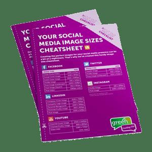 Social Media Size Cheat Sheet