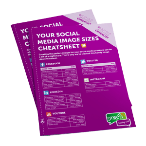 Social Media Size Cheat Sheet