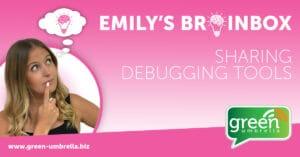 Sharing debugging tools