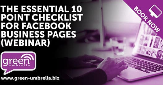 The Essential 10 Point Checklist for Facebook Business Pages