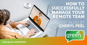 Successfully manage your remote team