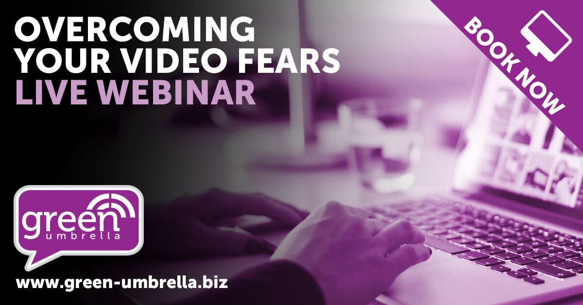 Overcoming your video fears – How to be confident on video