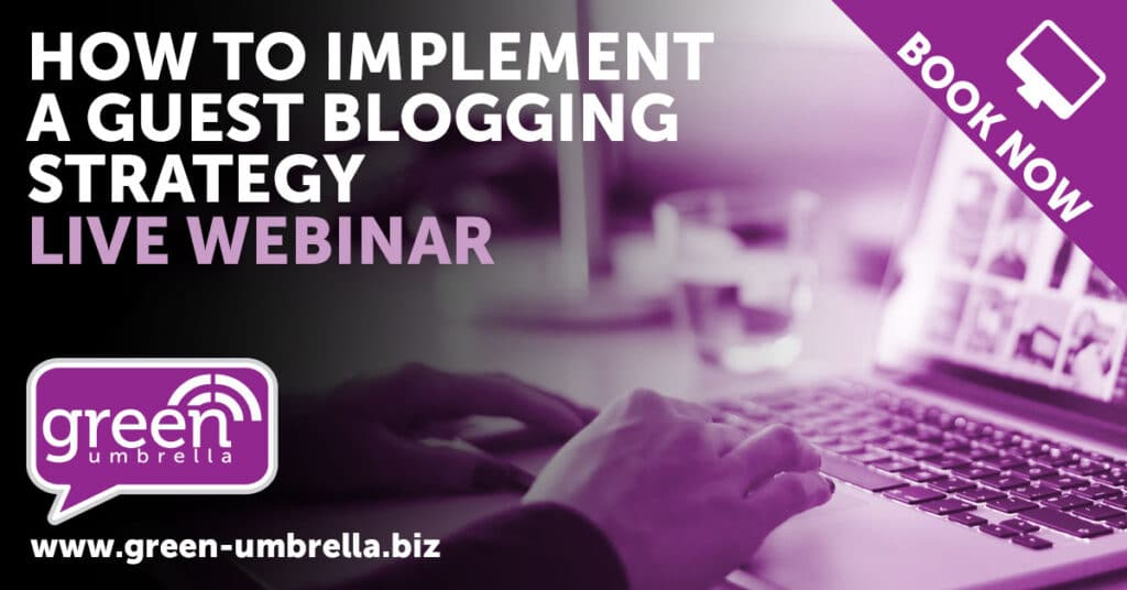 How to implement a guest blogging strategy