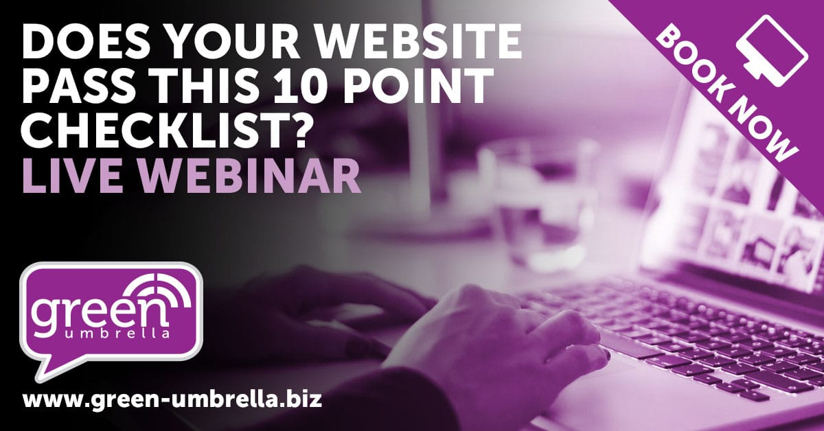 Does your Website pass the 10 point checklist?