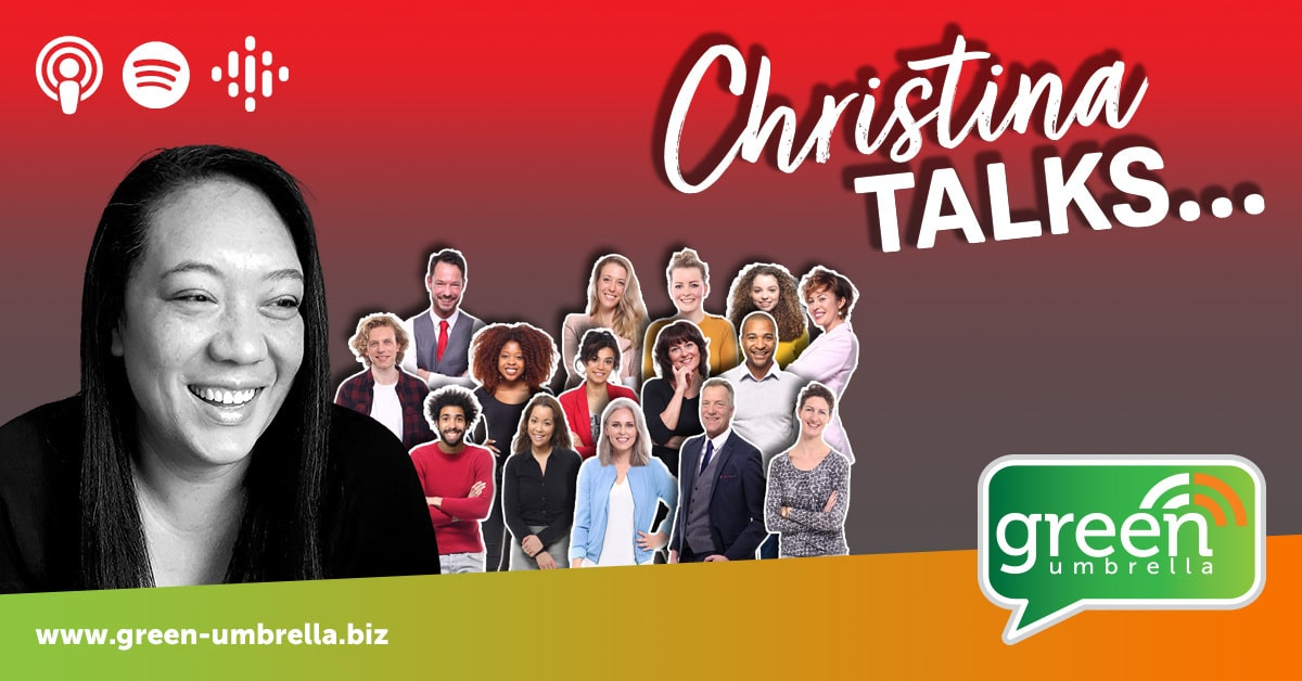 podcast announcement - Christina Talks