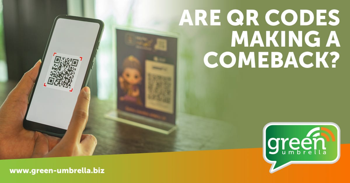 IS the QR code making a come back?