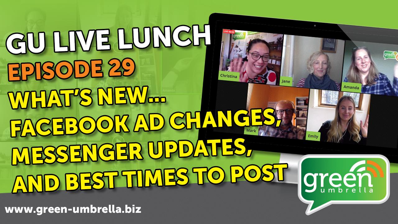 GU Live Lunch - Ep 29
