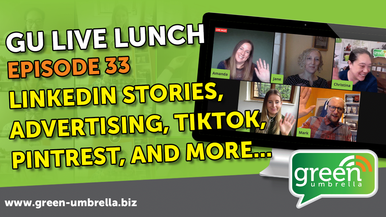 GU Live Lunch Ep 33