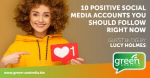 Positive accounts to follow