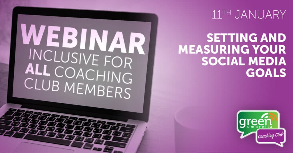 Setting and measuring your social media goals